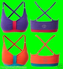 Zumba Dance Flash Spaghetti Bra Top-New With Tags-Ships Fast-2 color choices!