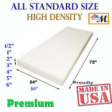 Seat Foam Cushion Replacement High Density Upholstery Per Sheet Standard Sizes