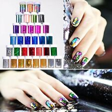 Sexy Galaxy Nail Decals Transfer Foil Manicure Decorations DIY Art Tips Stickers