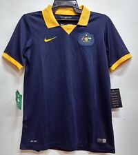 BNWT AUSTRALIA AWAY WORLD CUP YOUTH KIDS BOYS FOOTBALL SOCCER JERSEY 2014