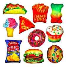 NWT Decorative Novelty Food Fight Pillow's  10 Different Choices FUN GIFT IDEA!!