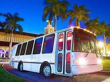 Florida 2008 Eldorado Diesel Limo Bus Huge Bose Sound Blue Tooth Mobile Office