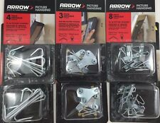 Arrow Picture Hanging Hooks 20 lb 50 lb 75 lb - 2 packs