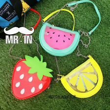 Fresh Fruit Watermelon Strawberry Handbag Clutch Shoulder Bag Mini Messenger