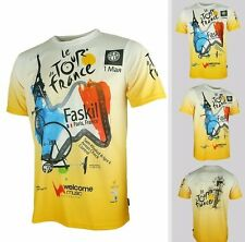FR#1 Arsuxeo Tour de France Cycling Bike Bicycle Quick Dry Jersey T-shirt Tee