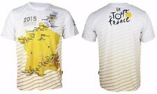 FR#4 Arsuxeo Tour de France Cycling Bike Bicycle Quick Dry Jersey T-shirt Tee