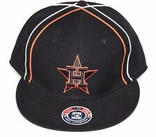 NEW Houston ASTROS Cooperstown Collection Black Orange MLB Baseball Cap Hat