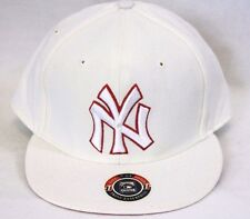 NEW New York YANKEES Cooperstown Collection White Red Baseball Cap Hat