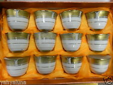 Luxurious ARABIC TURKISH COFFEE/ESPRESSO 12pc SET CUPS