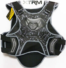 MOTORBIKE MOTOCROSS QUAD BIKE XTRM CAMO VEST BODY ARMOUR SPINE PROTECTOR GREY