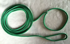 DOG LEADS - RECALL/TRAINING - AUS MADE - 6MM -  GREAT COLOURS