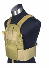 Mil Spec LT6094A Cordura 1000D Plate Carrier Combat Molle Tactical Vest Carrier