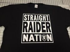 RAIDER NATION T-SHIRT OAKLAND RAIDERS T SHIRT AL DAVIS RAIDERS LA RAIDERS RAIDER