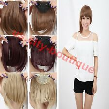 From USA Fringe Bangs Clip In On Hair Extensions Straight Bang Hair Extension