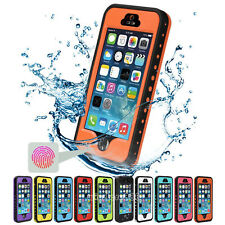 Waterproof Shockproof Dirt Snow Proof Heavy Duty Hard Case Cover for iPhone 5S 5