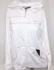 NEW Womens NEW BALANCE White 3M Reflective Athletic Apparel Running Jacket