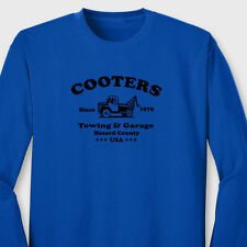 Cooters Garage Tow Truck T-shirt Funny Dukes Hazard GeneraL Lee Long Sleeve Tee