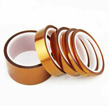 1 Roll 30m Tape Adhesive Tawny High Temperature Kapton Heat Resistant Polyimide