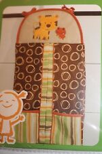 Kidsline Rainforest Collection Diaper Stacker for Baby Nursery Animal Jungle NEW