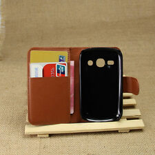 Flip Card Wallet PU Leather Case Stand Cover For Samsung Galaxy Fame Duos S6810