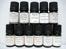 Essential Oils 5ml - Pure Therapeutic Grade Oils Showing Oils From M-Y
