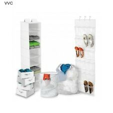 College Dorm Room Décor Closet Storage Accessories Furniture Laundry Hamper Bags