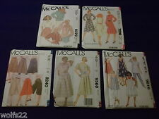 A McCall's ~ All Patterns are Size 4-10(4,6,8,10) U-PICK ~ 14+ Listed ~ 3231 NIP