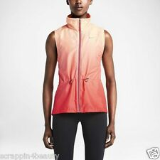 646631-647 New w tag Nike Women Windrunner gradient Multi-colored Running VEST