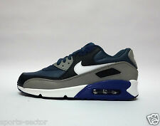 Nike Air Max 90 Leather Mens Trainers Shoes  New Slate