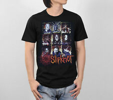 SLIPKNOT NU HEAVY METAL ROCK BAND TOUR RETRO VINTAGE MEN TEE BLACK T-SHIRT S-XL