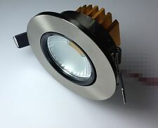 Epistar  5W COB LED Energy Saving lamp Ceiling Recessed Down Light Nickle