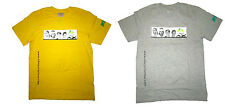GENUINE NIKE NJT MENS TEE TSHIRT TOPS SIZE M  - YELLOW GREY