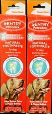 Petrodex Enzymatic Dog Toothpaste PEANUT  2.5 oz single or Save on TWO PACK
