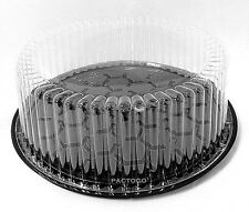 6 Inch Plastic Cake Containers With Dome Lid 100 Ct 4 Tall