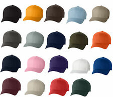 Flexfit Structured Twill Hats FITTED Size S/M L/XL 2XL Sport Baseball Caps 6277
