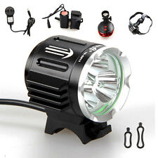 TrustFire 3*CREE XM-L2 LED 6000Lm Head Cycling Front Bike Bicycle Light Headlamp