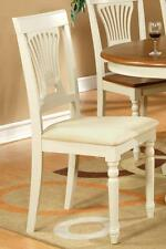 Plainville Chair for dining room - Buttermilk & Cherry (Set of 2)