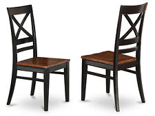 Dining room Chair With X-Back in Quincy collection (Set of 2)