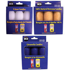 Uco Replacement Candles - All Natural, Fits Many Popular Candle Lanterns