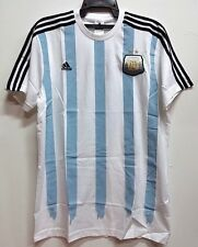 BNWT ARGENTINA LIONEL MESSI #10 TEE T SHIRT TOP FOOTBALL SOCCER JERSEY 2014 2015