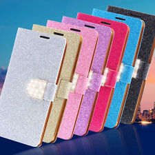 Bling Glitter Leather Wallet Flip Stand Case Cover For LG Optimus G4 H815 H810