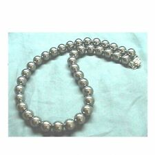 BLACK GREY Sea Shell Pearl Necklace Wedding Bridal Bridesmaids Prom 6mm 8mm 10mm
