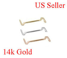 14K SOLID YELLOW or WHITE Pink Rose GOLD  LADIES RING GUARD ADJUSTER TIGHTENER