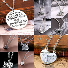 Jewelry Gift Sister HSU U Mother Family Best Friend Love Cool Pendant Necklace