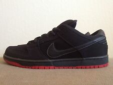 New DS Nike Dunk Low Pro Premium SB Quickstrike QS Levi's Black Denim men sz 13