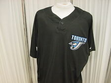 Toronto Blue Jays #17 Josh Roenicke Game Worn Black BP Jersey Majestic Size 50