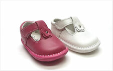 New Infant/Toddler Girls Genuine Leather Daisy Mary Jane Shoes Size 2 ~ 7
