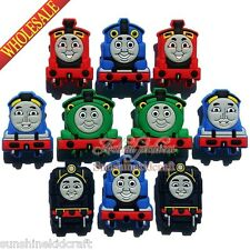 Thomas the Tank Engine PVC SHOE CHARMS For wristband shoe decoration Kids Gift