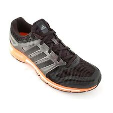 ADIDAS MENS SIZES 7 to 9.5 REVENERGY BLACK TRAINERS RUNNING SHOES