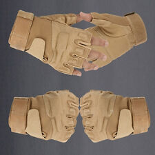 High Quality  Fingerless Military Tactical Hunting Riding Game Gloves